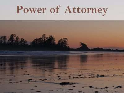 Vancouver Power of Attorney Lawyer